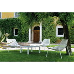 Emu Round lounge chair, matt white