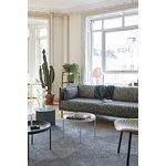 Hay Silhouette sohva 3-ist, Olavi 03/Silk black - musta teräs