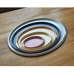 Hay Ellipse tray, XL, light grey