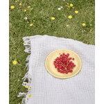 HAY Enamel lunch plate, 21 cm, dust - light yellow