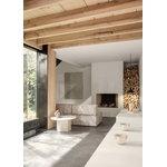Gubi Wonder 2-istuttava sohva, pellava