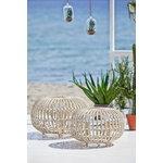 Sika-Design Franco Albini Exterior ottoman, small, white