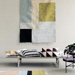 Ferm Living Kelim matto, Squares, 140 x 200 cm