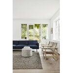 Fredericia Canvas chair w. seat cushion, oiled oak - natural canvas