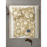 Marimekko Unikko pussilakana 150 x 210 cm, puuvilla - beige