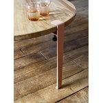 TIPTOE Coffee table and bench leg 43 cm, ash pink