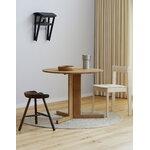 Form & Refine Shoemaker Chair No. 49 stool, smoked oak