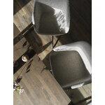 Muuto 70/70 table, 225 x 90 cm, solid smoked oak - grey