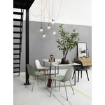 Muuto E27 LED pendant, light green