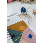 Finarte Zeniitti rug 200 x 300 cm, pink - brown
