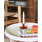 Hay Flare candle holder, amber