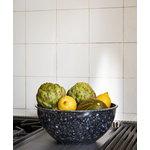 Hay Fleck bowl, marbled grey