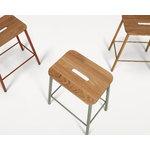 Frama Adam Nyboder stool, 65 cm, sill green