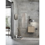 Muuto Framed mirror, large, grey