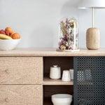 Harto Gabin sideboard with drawers, high, oak - slate grey