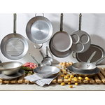 De Buyer Mineral B wok pan 28 cm