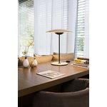 Marset Ginger 20 M table lamp, oak