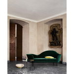 Gubi Grand Piano sofa, left, Velluto 787 - oak base