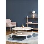 Harto Eugenie coffee table 90 cm, oak - white