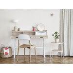 Harto Hyppolite desk, oak - white