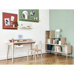 Harto Honore desk, oak - white