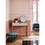 Harto Marius console table, oak - light grey