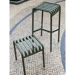 Hay Palissade stool, olive