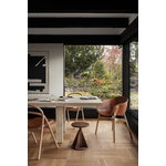 Hem Udon chair, natural beech - cognac leather