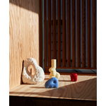 HAY W&S Soft candleholder, soft yellow