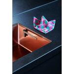 Magisso Happy Sinks dishcloth holder, charcoal