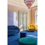Hakola Bobo Velvet 2-seater sofa, lavender - birch