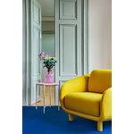 Hakola Bobo Wool lounge chair, saffron - birch