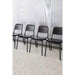 HAY Halftime chair, black oak - black