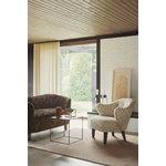 By Lassen Twin 42 sohvapöytä musta, harmaa/ mustapetsattu saarni