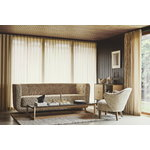By Lassen Vilhelm sofa, smoked oak - Sahco Zero 001