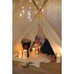 Uyuni Lighting LED pillar candle 7,8 x 20 cm, nordic white