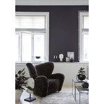 By Lassen Twin 49 sohvapöytä musta, harmaa/mustaksi petsattu saarni