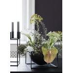 By Lassen Kubus Centrepiece bowl, large, black