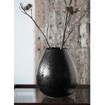 Klassik Studio Milo Drop vase, black