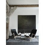 Klassik Studio Poltrona PV Lounge Chair, rovere - pelle nera