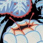 Klaus Haapaniemi Iceflower tapetti, mattapinnoitettu