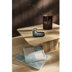 Iittala I X MP glass bird, 126 x 92 mm, grey