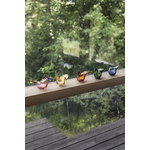 Iittala Birds by Toikka Flycatcher, lemon - copper