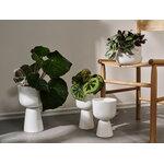 Iittala Nappula plant pot 230 x 155 mm, white