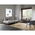 Muuto Soft side table, 41 cm, oak - off white