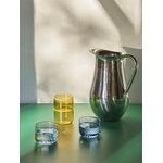 HAY Tint glass, 2 pcs, blue - red