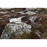 Langø Coperta Drops, lana- grigio chiaro-bianco