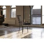 Hay J110 chair, black, PU lacquer