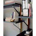 Artek Kaari wall shelf REB 008, black - oak