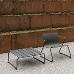 Mater Ocean lounge chair, black
